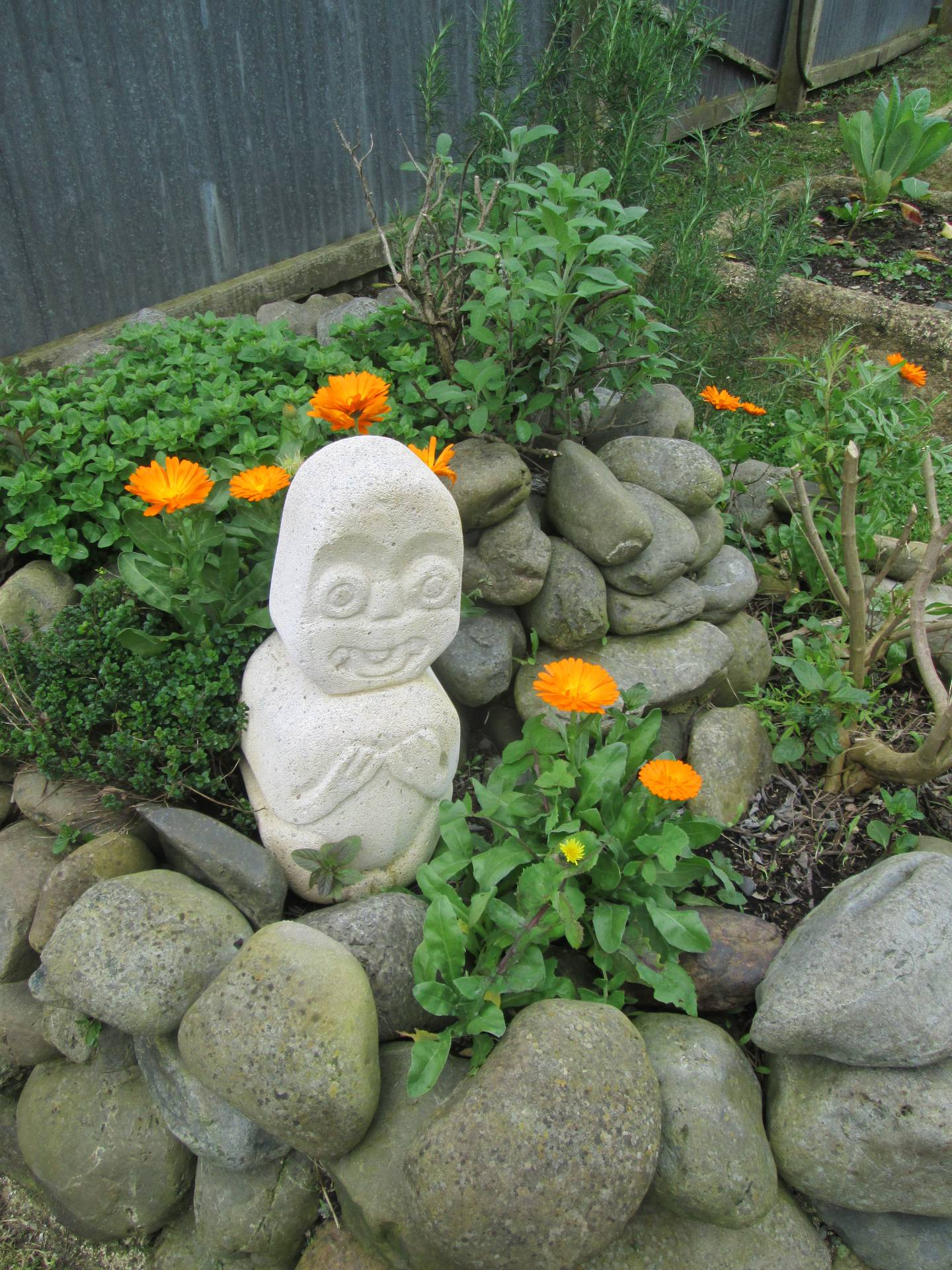 Rongo God of Cultivated Foods in RECAP garden